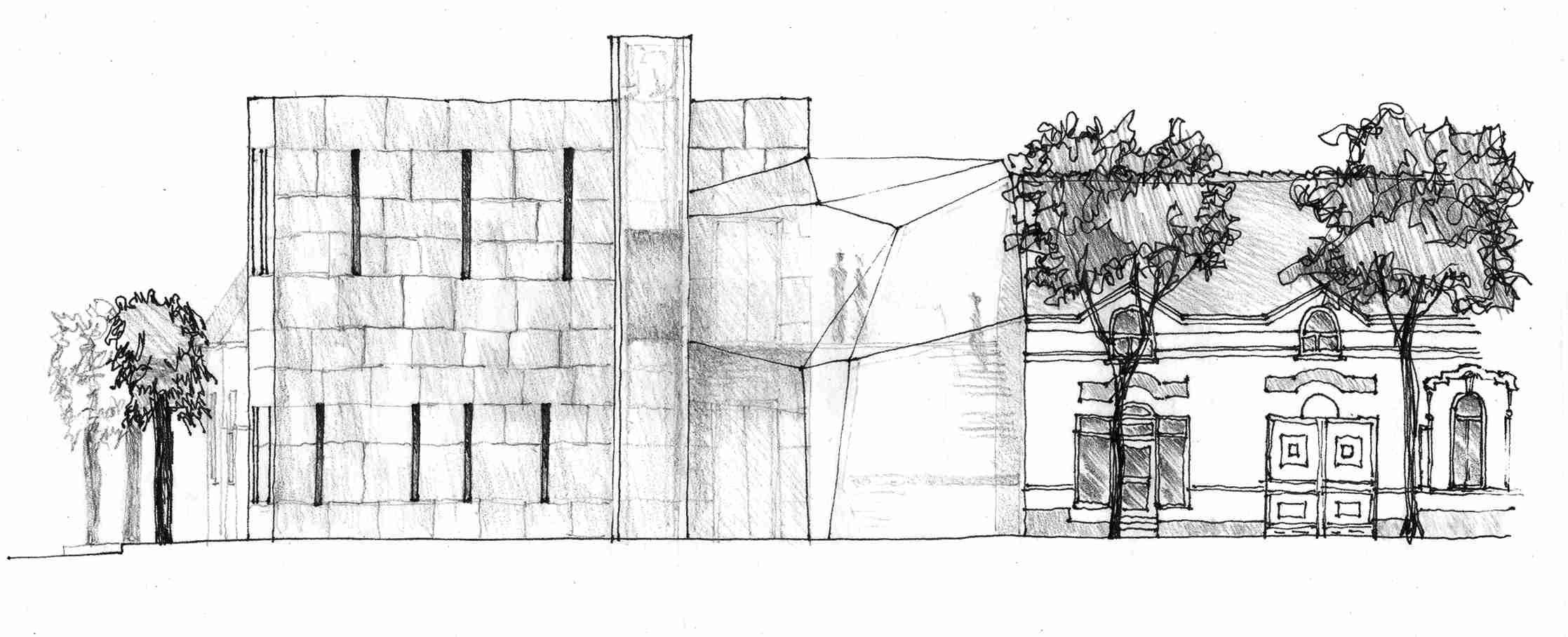 Építész grafika 1