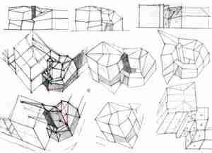 Építész grafika 3