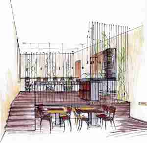 Építész grafika 9