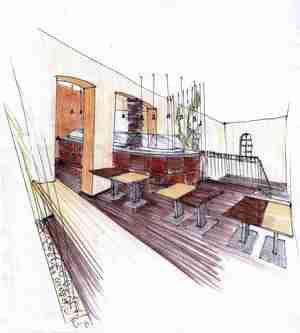Építész grafika 10